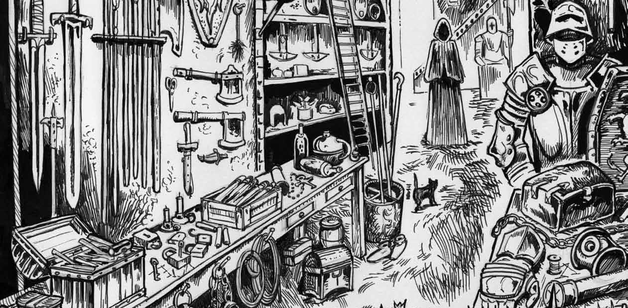 Dungeon Crawl Classics RPG: Store Generator